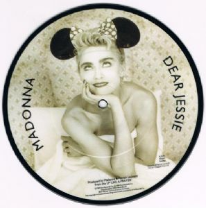 "DEAR JESSIE - UK 7"" PICTURE DISC (W2668P)"